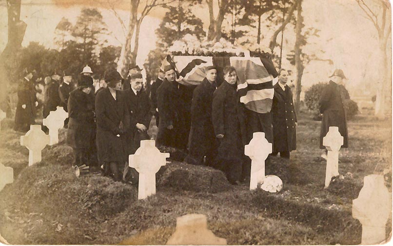 Photo of Alfred Harry Robert Gascoyne's funeral