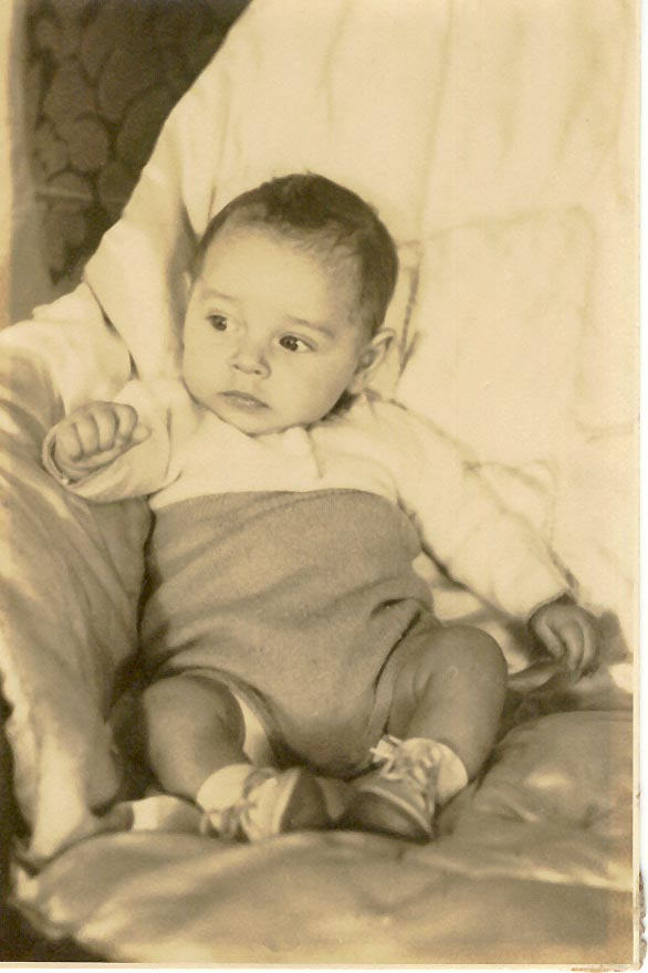 Photo of Duane Edward MacKinnon aged 4 months.