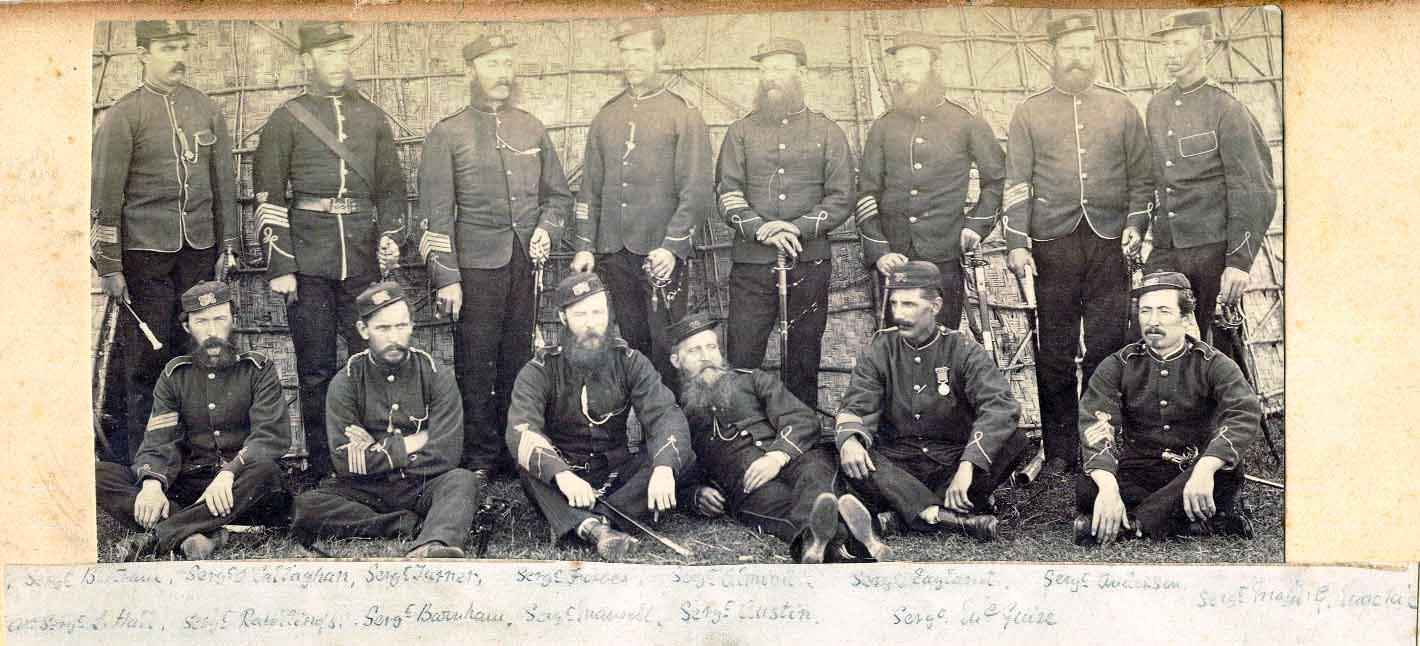 EIR Volunteers 1874
