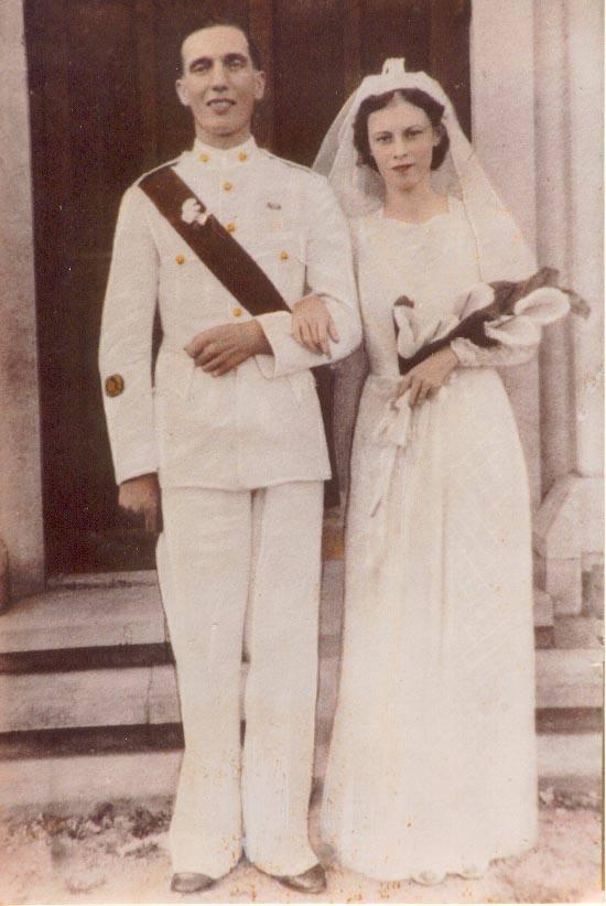 Frederick William Gascoyne & Betty Wardley